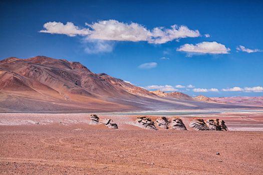 Salar Aguas Calientes, desert Atacama
