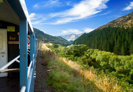 Scenic railway journey