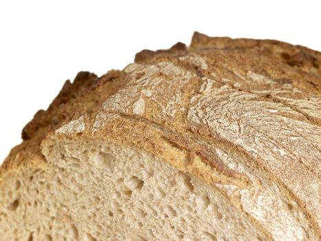 detail of a brown bread