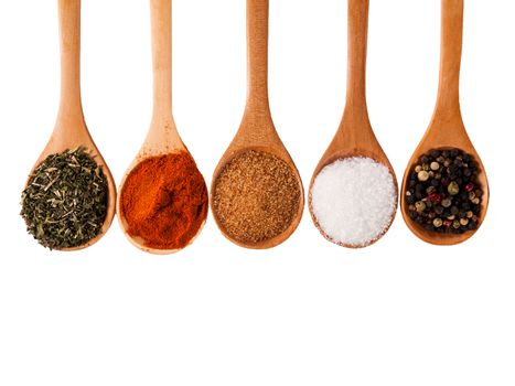 Spices isolated