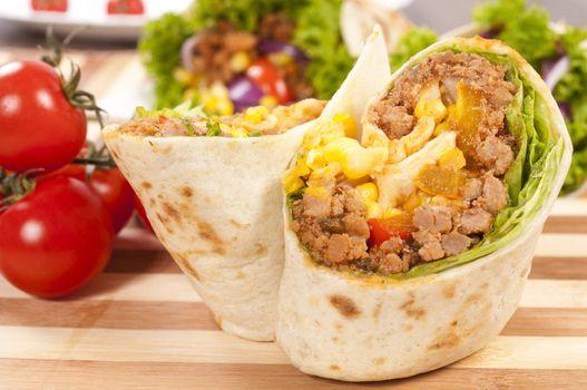 Tasty burrito