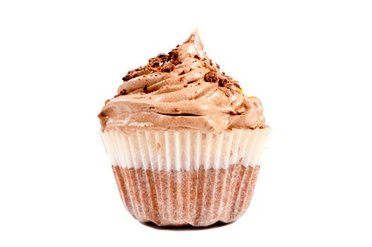 Cup cake isolated