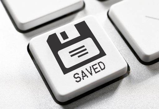 Saved button