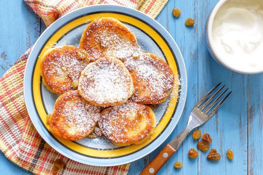 Curd pancakes