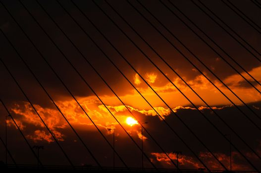 Loced sunset