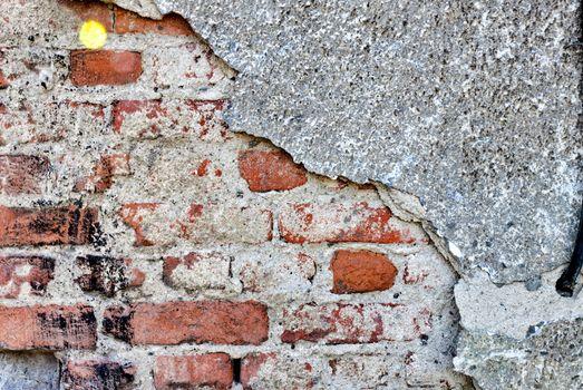 Old wall brick