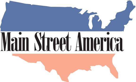 Main Street Usa Vector