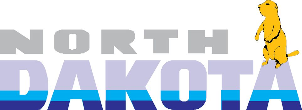North Dakota Vector