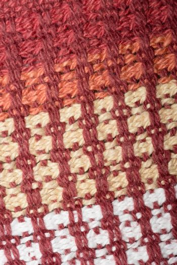 Knitted wool close-up