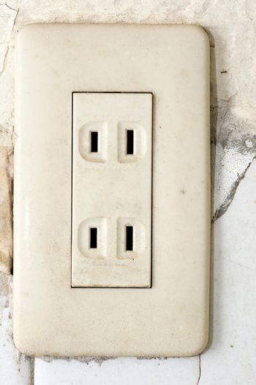 Socket, electrical outlet