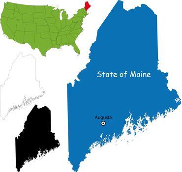 Maine map