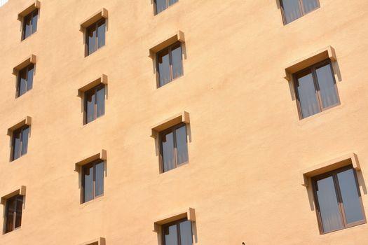 Windows of house