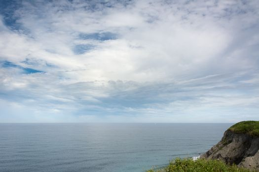 Seascape from the mountain