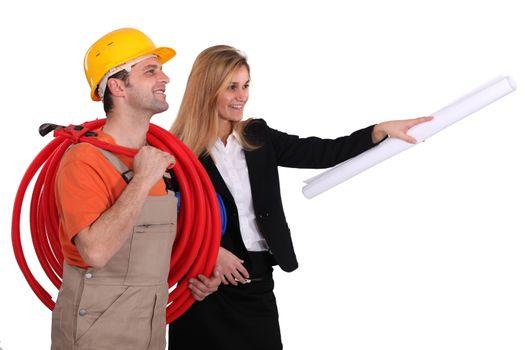 Craftsman and architect