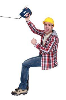 craftsman yelling
