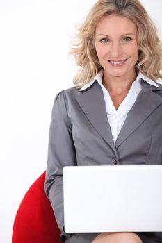 Smart executive woman