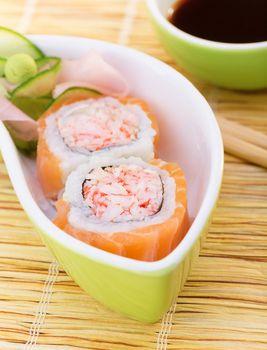 Delicious sushi