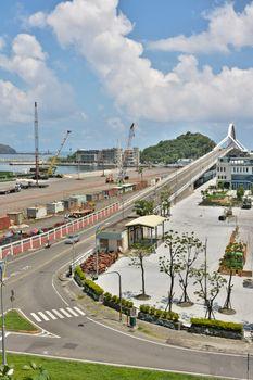 Suao port in Taiwan