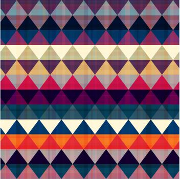 seamless ethnic triangle background texture