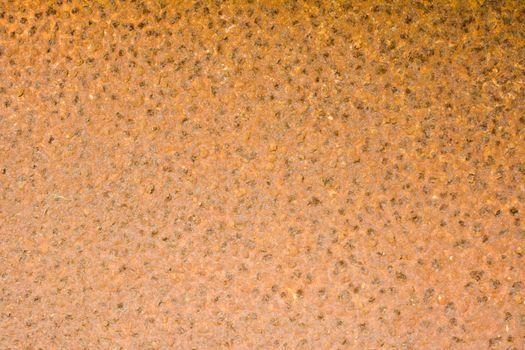 Rusty iron wall