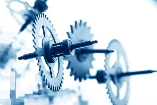 mechanical clock gear