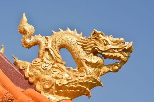 Dragon religious decoration