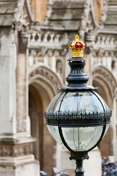 London street lamp