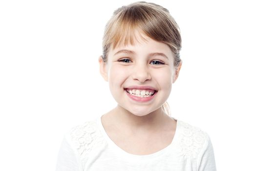 Portrait of a smiling kid