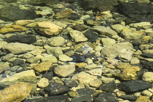 River. crystal water