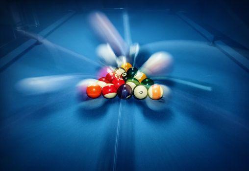 Billiard pool