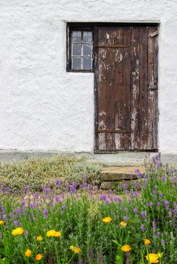 Entrance to a rural house