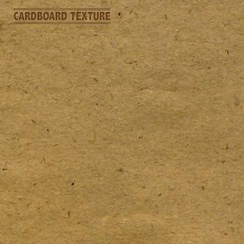 Cardboard Texture, Vector Illustration