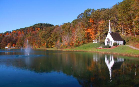 Scenic landscape near Romance West Virginia