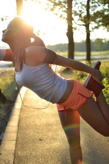 fitness woman outdoor