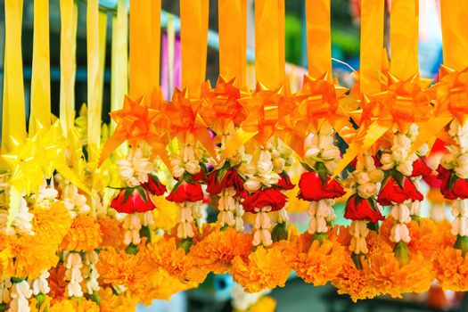 Garland flower for worship