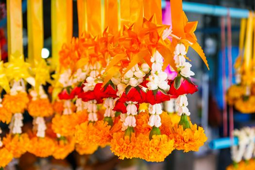 Thai worship garland for sell