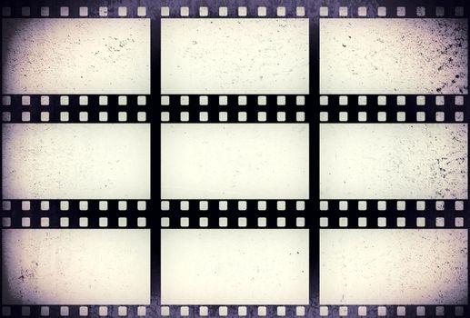 Grunge filmstrip