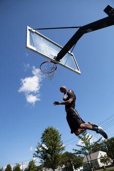 Slam Dunking a Basketball