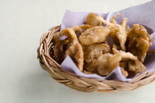 Deep fried sajor-caju mushroom