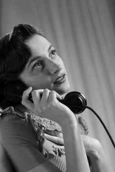 1950 style handsets house lifestyle nostalgia