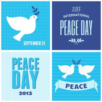 Peace Day Posters Collection