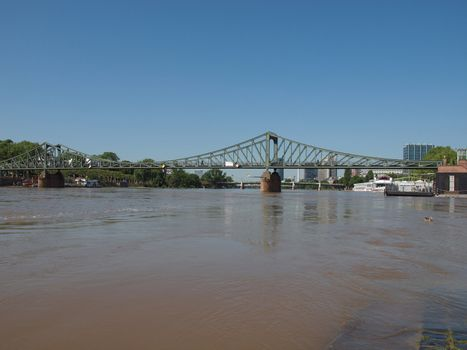Iron Bridge in Frankfurt