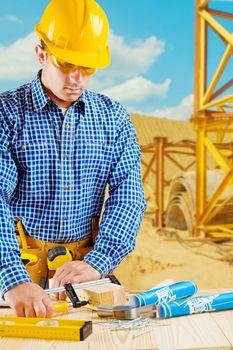contractor in work