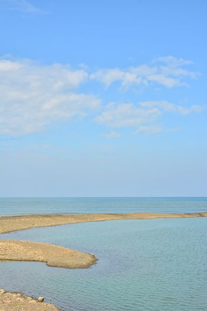 Seascape coastline