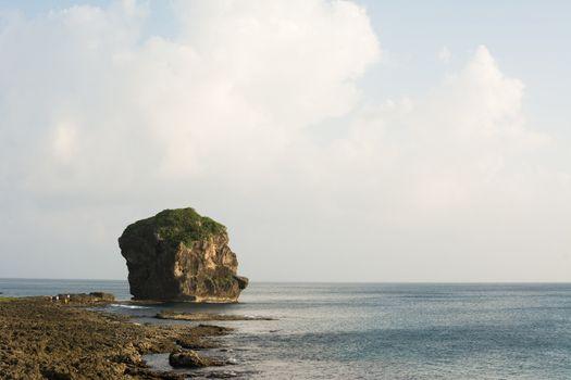Chuanfan Rock at coastline