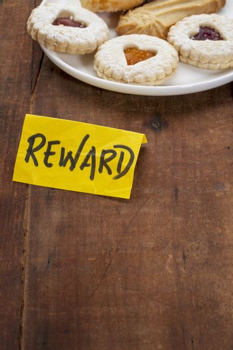 cookies as a reward