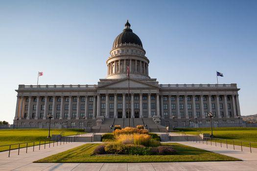 Utah State Capital Building in Salt Lake City
