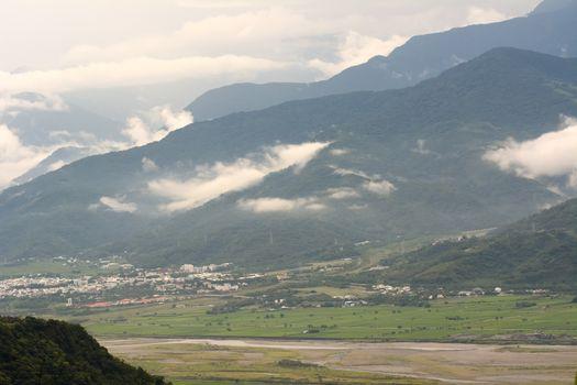 Hualien farmland