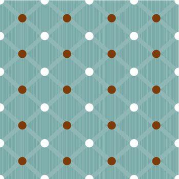 Seamless dots pattern background