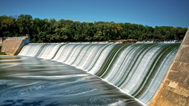 Griggs Dam in Summer